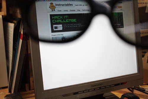 隐形私有显示器